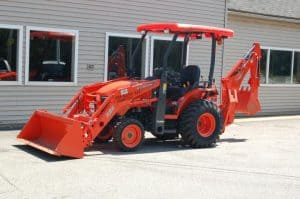 Kubota B26 Tractor/Loader/Backhoe